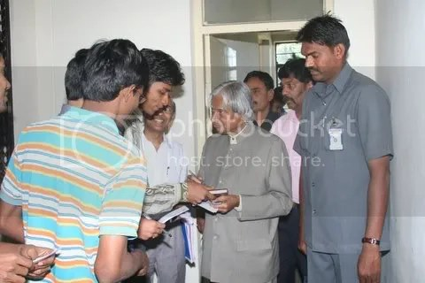 Myself and Dr kalam - 2