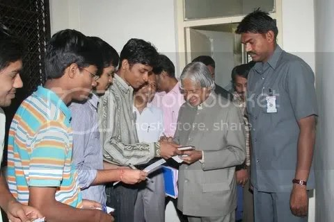 Myself and Dr kalam - 3
