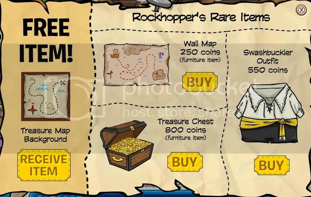 Rockhoppers Rare Items