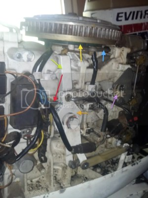 1983 Evinrude 70hp  a few problems better explained with picture *Video Added* Page: 1  iboats