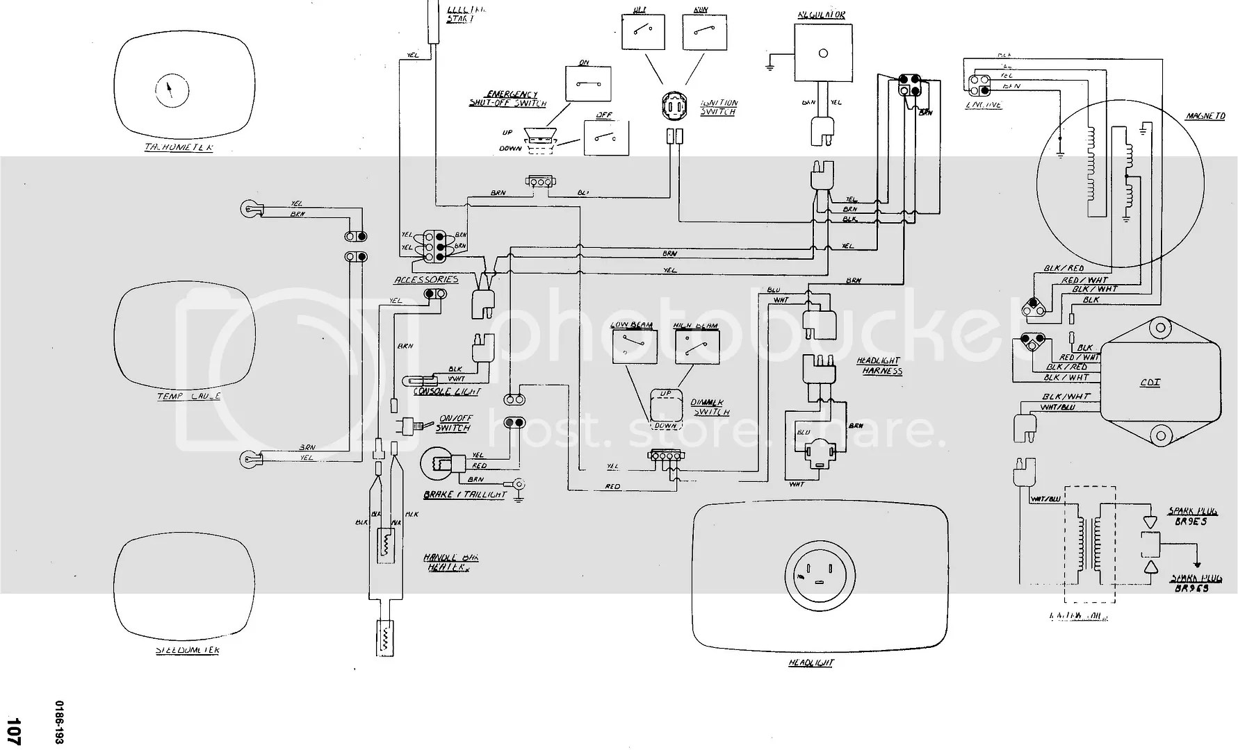 Arctic Cat 580 Ext Wiring Diagram