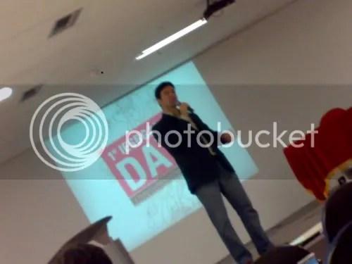 Emiliano de Castro em sua keynote