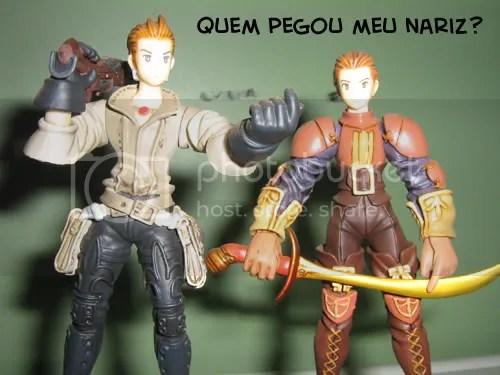 Balthier e Delita, de Final Fantasy Tactics