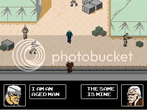Metal Gear Solid 4 para NES