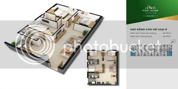 Căn Hộ First Home Premium Thủ Đức 3PN 69.02m2
