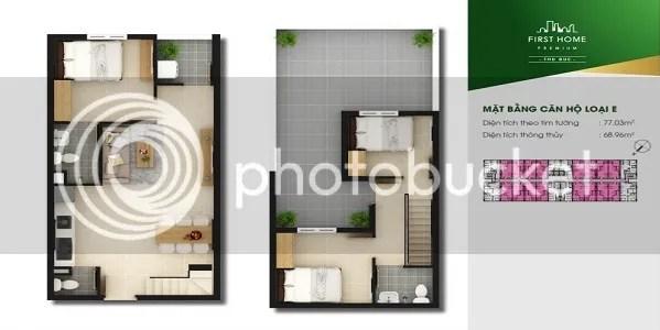 Căn Hộ First Home Premium Thủ Đức 3PN 77.03m2