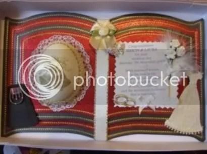 wedding love couple congratulations memory keepsake bookatrix