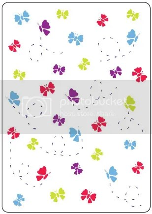 Crafts Too Butterfly embossing folder
