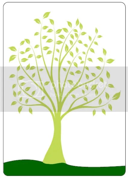 Crafts Too Leafy Tree Embossing Folder