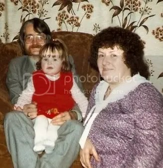 Laura, Mum and Dad 'mini me'