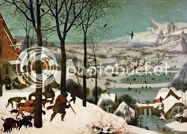 Pieter Brueghel - Il Ritorno Dei Cacciatori [1565]