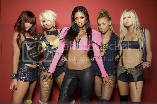 Jessica, Kimberly, Nicole, Melody et Ashley