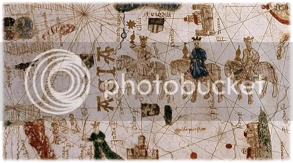 Mapa de la Cabalgata