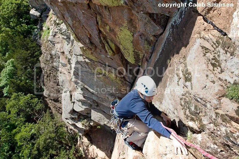 Climbing in the Wichitas