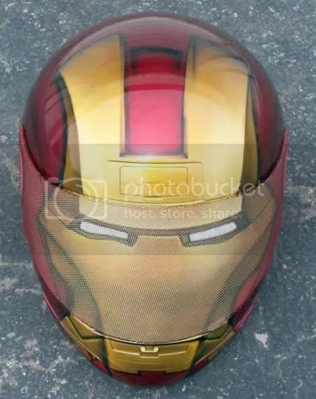 iron man helmet