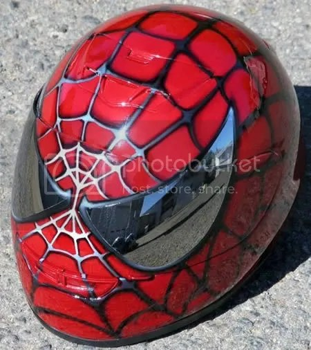 spider-man helmet