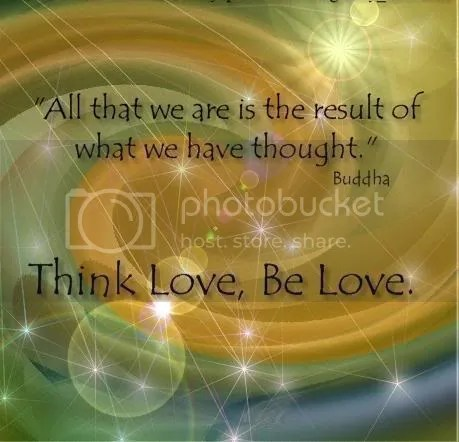 buddhasaying-1.jpg Think love - Be Love image by Joysilk_2008