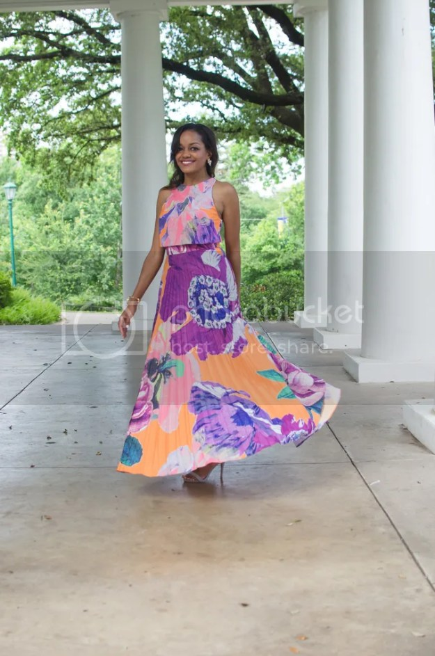 ASOS, ASOS DRESSES, MAXI DRESS, SUMMER DRESS, COLORFUL DRESSES, PRINTED DRESS, PLEATED MAXI DRESS, ASOS PLEATED MAXI DRESS, JUST FAB SANDALS, KENDRA SCOTT RING, FASHION, FASHION BLOGGER, DALLAS FASHION BLOGGER, DALLAS BLOGGER, SPRING FASHION, DRUZY JEWELRY, ARLINGTON HALL AT LEE PARK, BLACK GIRL BLOGGER,
