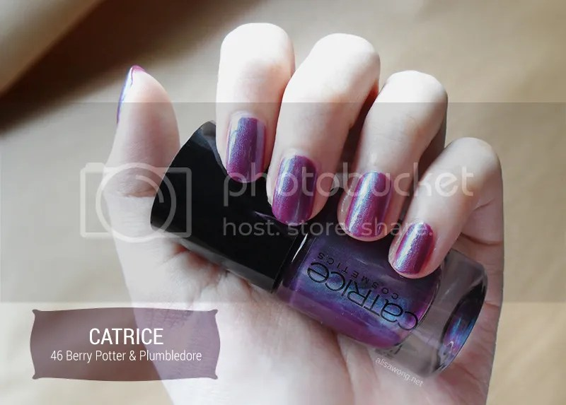 Catrice Berry Potter & Plumbledore
