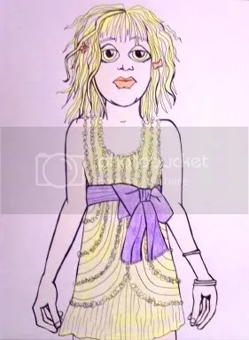 sketch book - courtney love