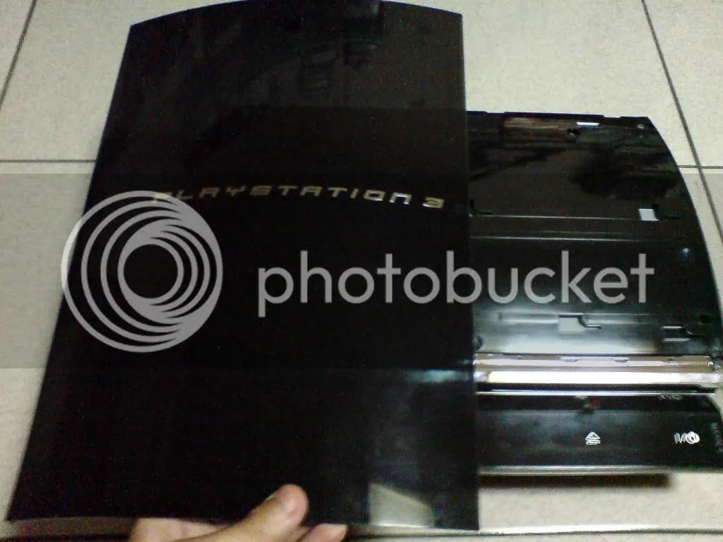 我把我壞掉的60G PS3拆了 看看裡面到底是怎樣壞 - silverx的創作 - 巴哈姆特