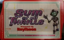 Sum of All Thrills card