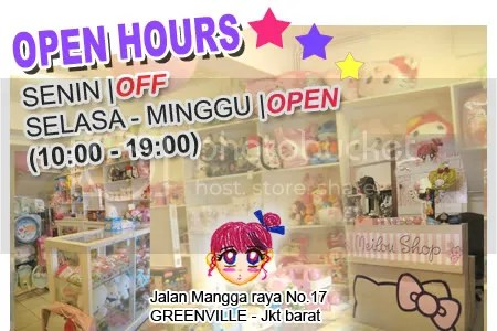 open hours melokitty on real shop