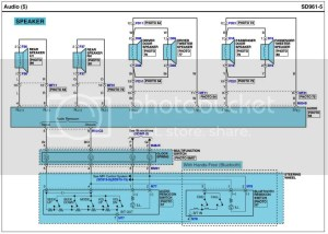 Wiring Diagram for Base Stereo  Photo inside  Hyundai