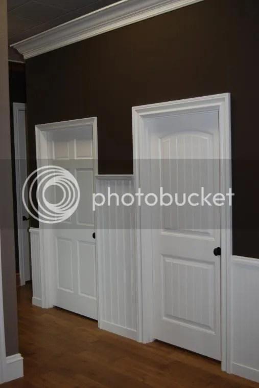 Specialty Interior Door Units With Bead Board Accents