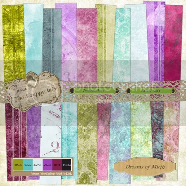 Dreams of Mirth Paper Pack