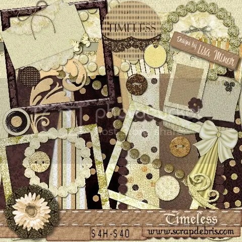 Timeless by Lisa Minor @ Scrapdebris