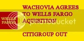 Wells Fargo wins Wachovia