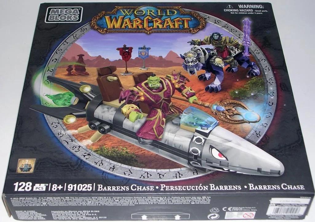 BARRENS CHASE world of warcraft megabloks NEW nightsaber dragath tanavar WOW