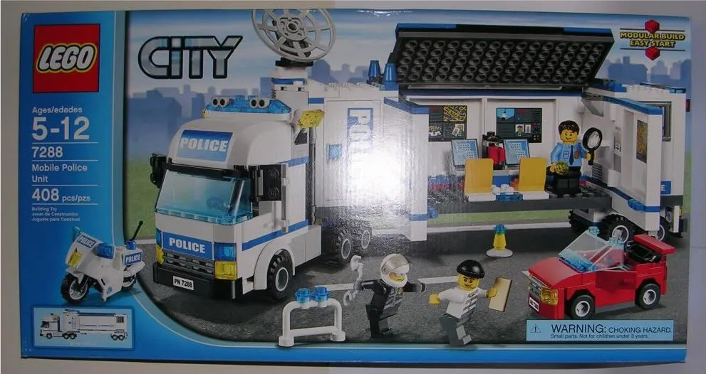 Lego City Mobile Police Unit 7288 Figurefan Zero