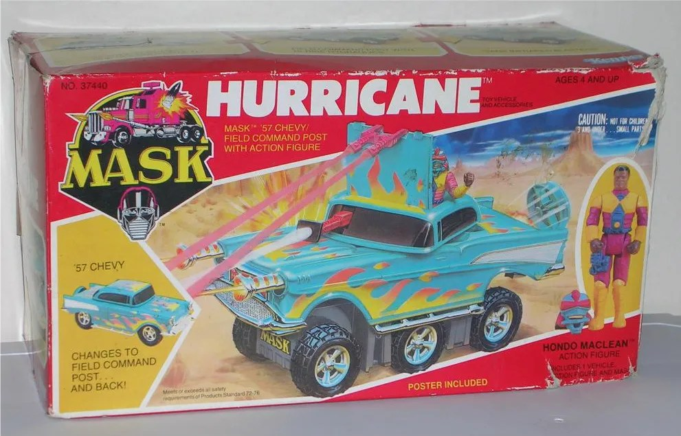 Vintage Vault M A S K Hurricane With Hondo Maclean By