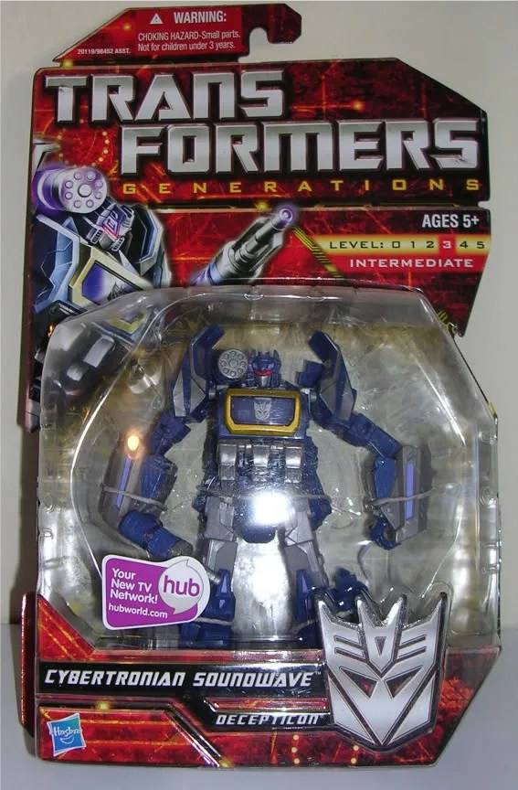Transformers Generations: War For Cybertron Soundwave by Hasbro