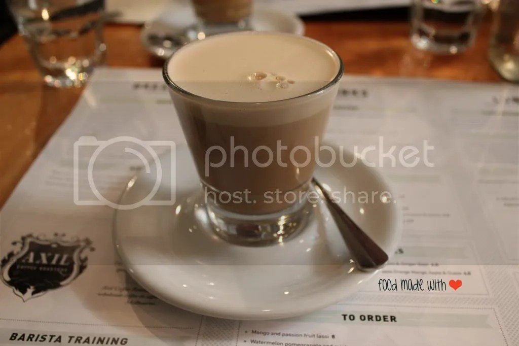 chai soy latte
