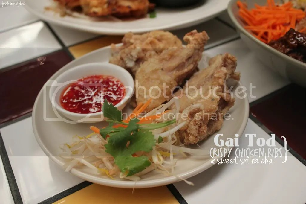 Crispy chicken ribs