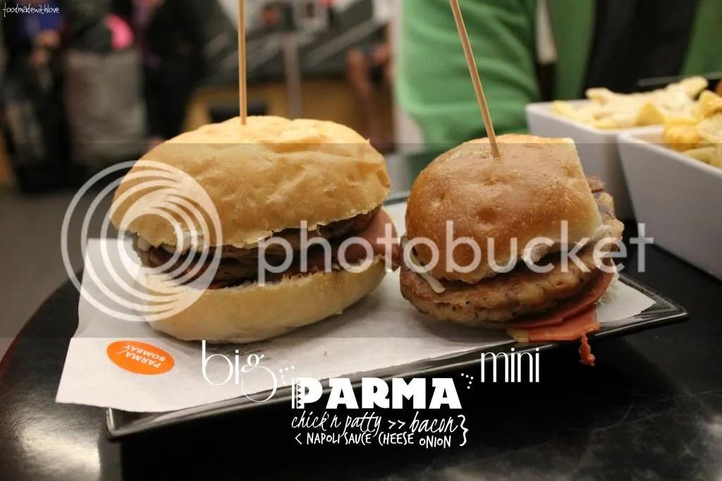 Parma big and mini