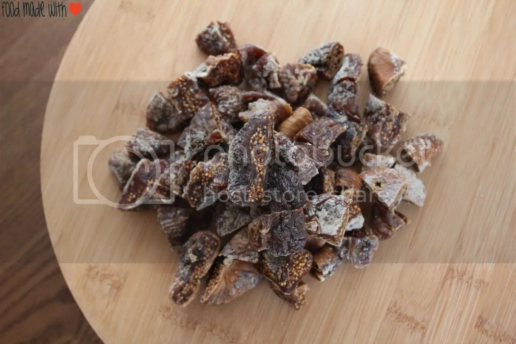 chopped dried figs