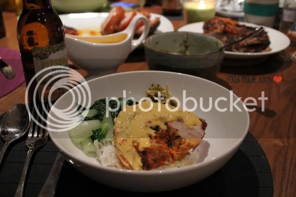 Babi guling - Served