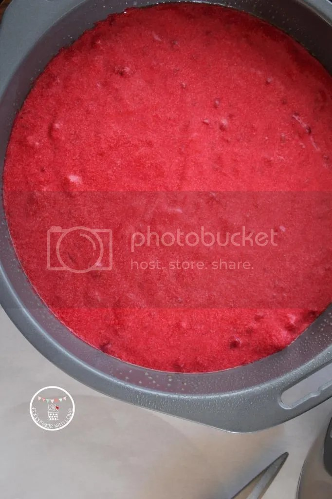 the red layer - raspberry