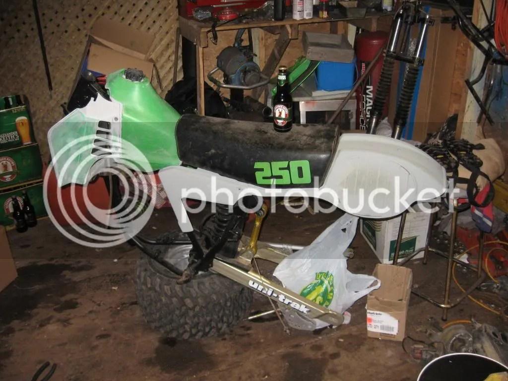 Kawasaki Three Wheeler Rear Master Cylinder