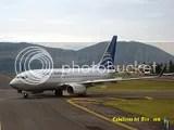 Copa Airline B737 en Bogota Colombia