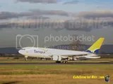 TAMPA CARGO 767 aterrizando en Medellin