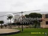 Bell B47G de la Aviacion Naval del Peru hoy descansa como Gate Guard