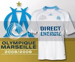 Olympique Marseille 2008 09 Jersey Shirt