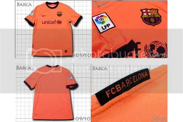 a5fa3049150 FC Barcelona 2009 10 Nike Away Kit   Jersey   Camiseta Leak ...