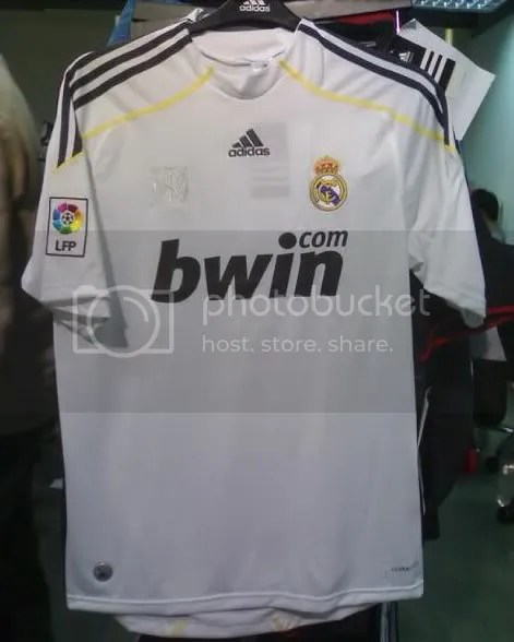 This would be a classic Real Madrid jersey if its real
