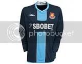 West Ham United Umbro 2009-10 Away Kit